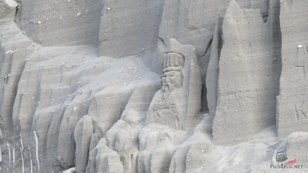 Скульптура на песчанике
