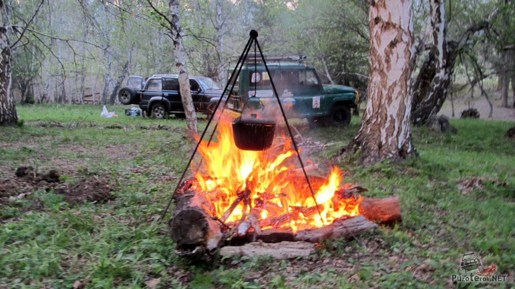 Приготовление ужина в путешествии - важный ритуал