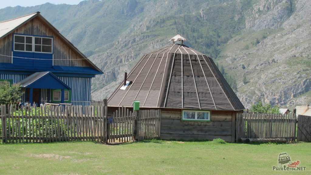 Дом алтайцев
