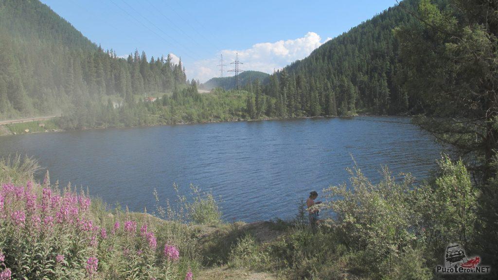 Озеров в горах Алтая