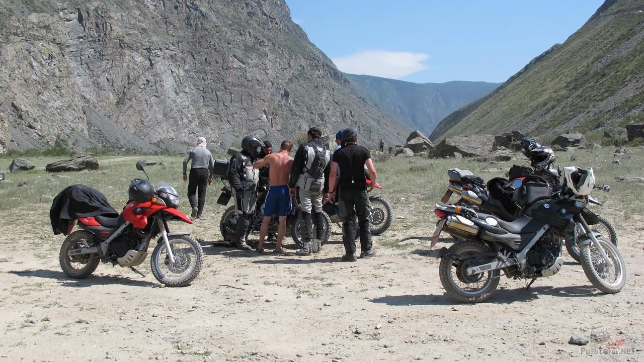 Путешествие на мотоциклах по Алтаю