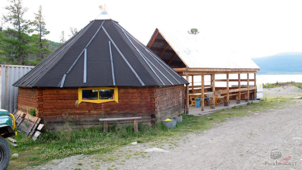 Столовая и кухня на турбазе
