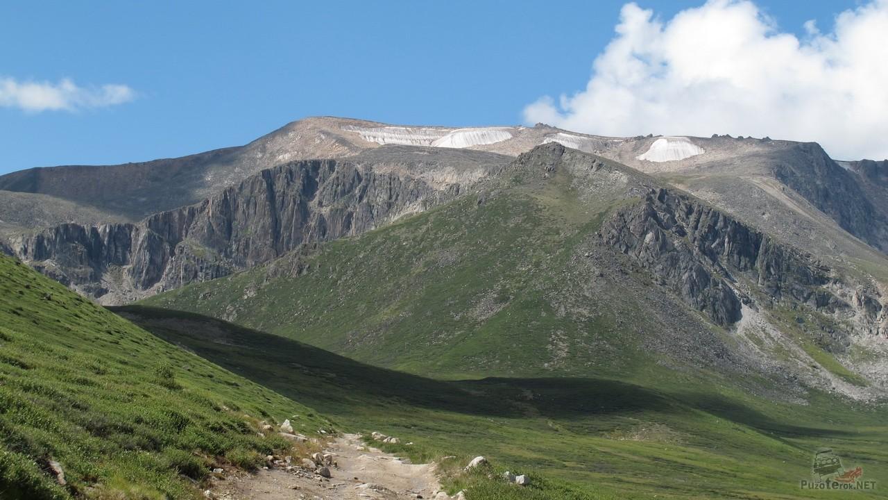 Горы Алтая по дороге на Укок