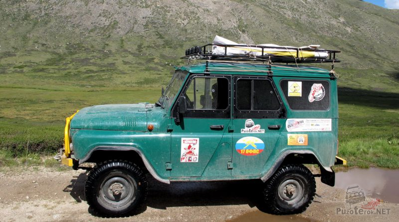 Фото УАЗ для путешествий на Алтае