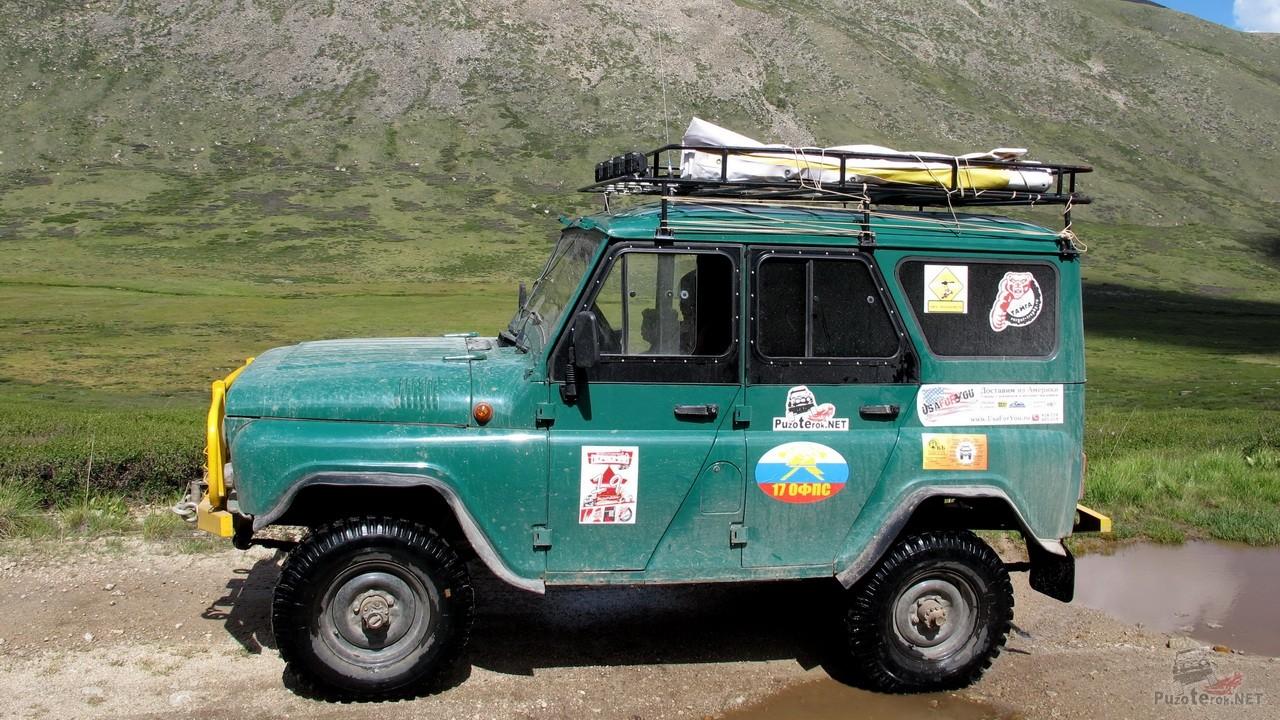 Экспедиционный УАЗ 31519