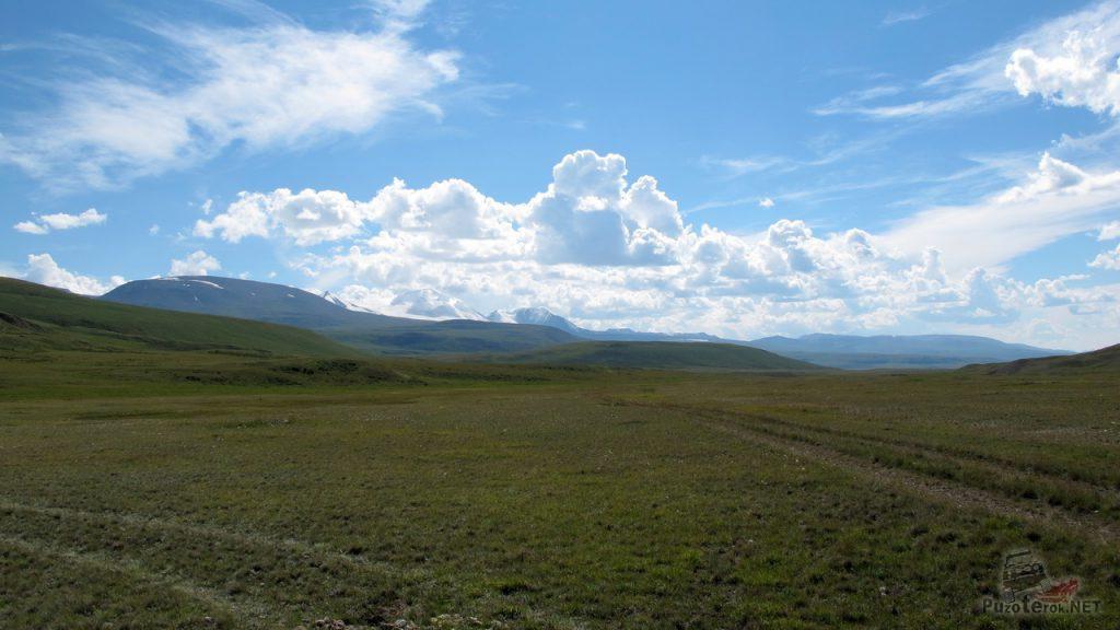 Красивое небо на плато Укок