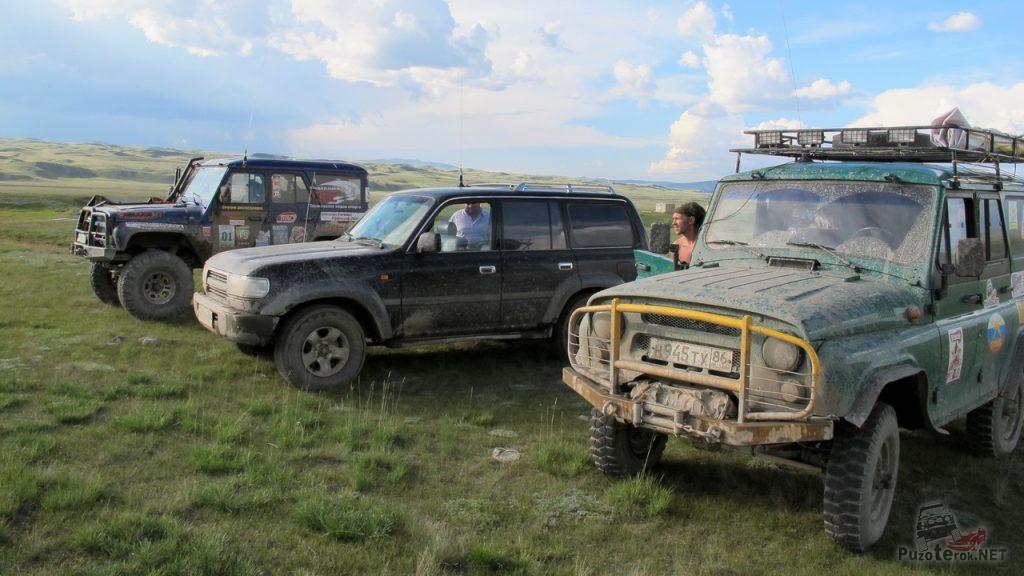 Внедорожники на плато Укок