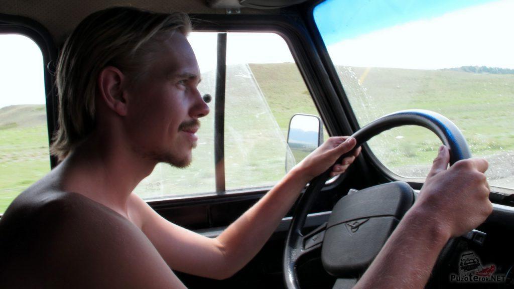 Водитель уаза