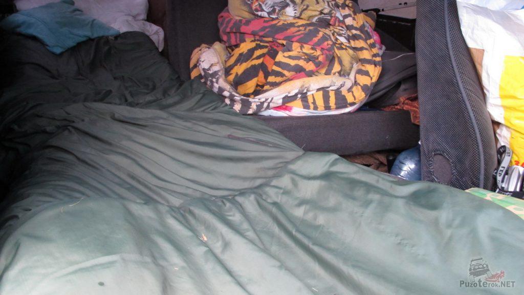 Спальное место в УАЗ