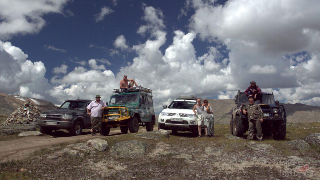 Фото внедорожников на перевале