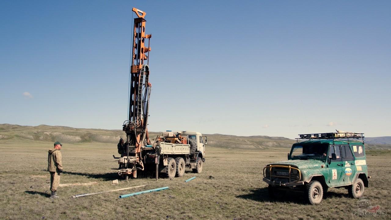 Газпром тянет трубопровод через Укок