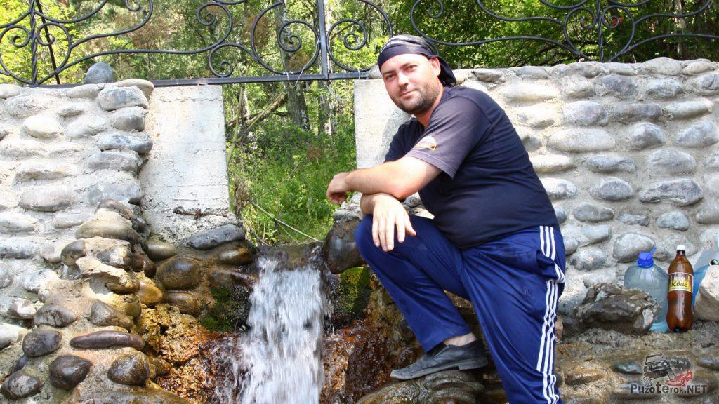 Вода с горного ручья