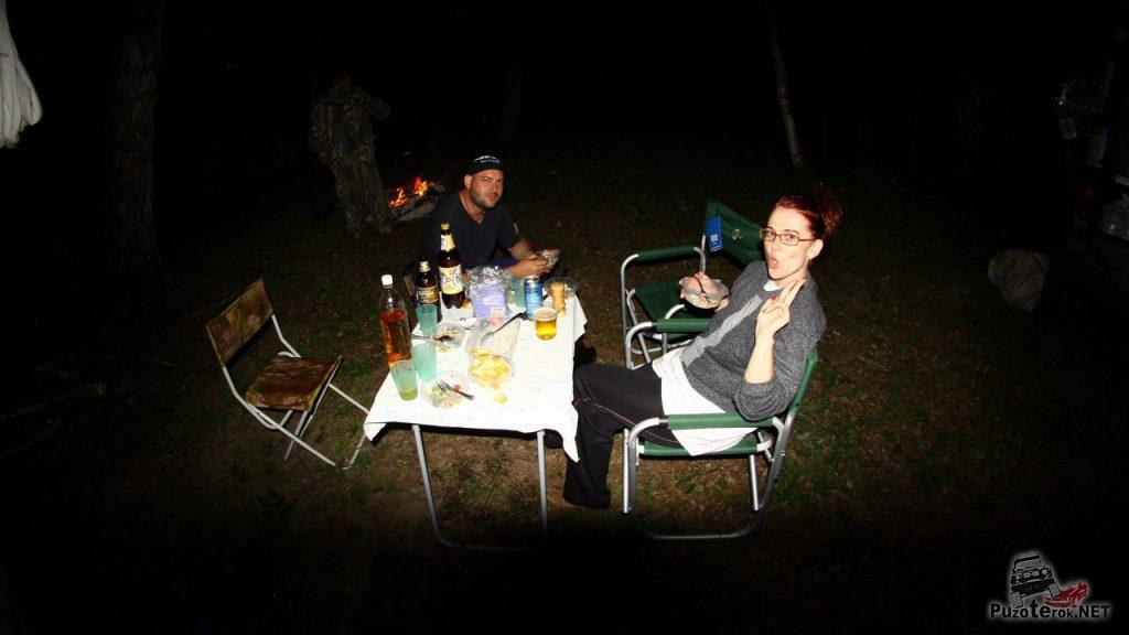Ночные посиделки путешественников