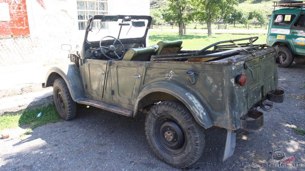 ГАЗ-69 на Алтае