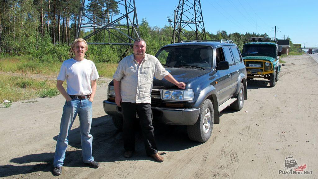 Land Cruiser 80 участник путешествия на Алтай