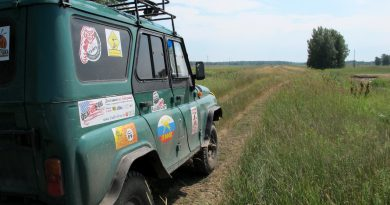 На УАЗе путешествуем по омской области
