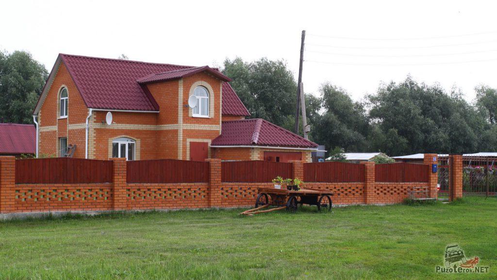Красивый дом Тюменская область