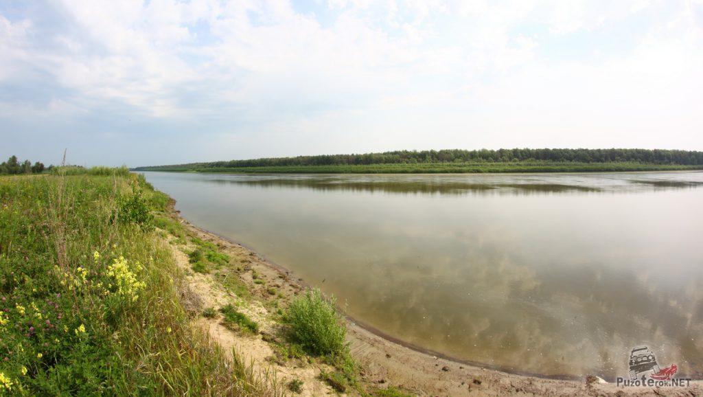 Иртыш - большая красивая река