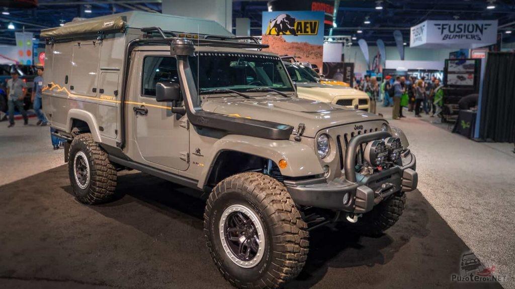 Экспедиционник на базе Jeep Wrangler