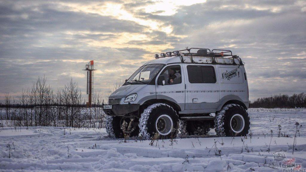 Подготовленный ГАЗ Соболь с дизелем для экспедиций и бездорожья