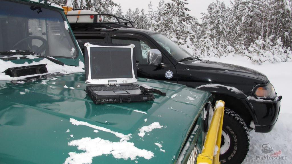 Защищенный ноутбук и внедорожники
