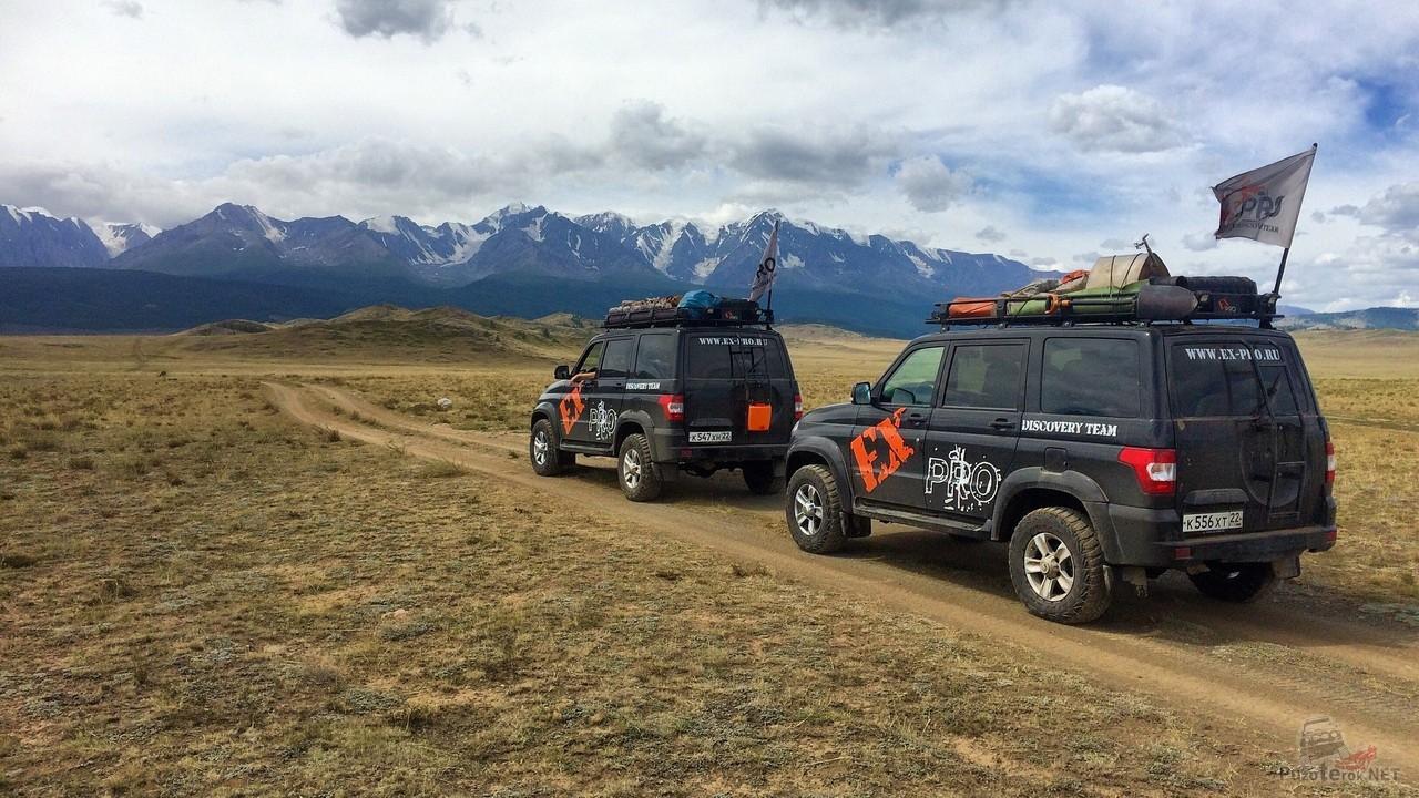 Внедорожный туризм на Алтае и в Монголии