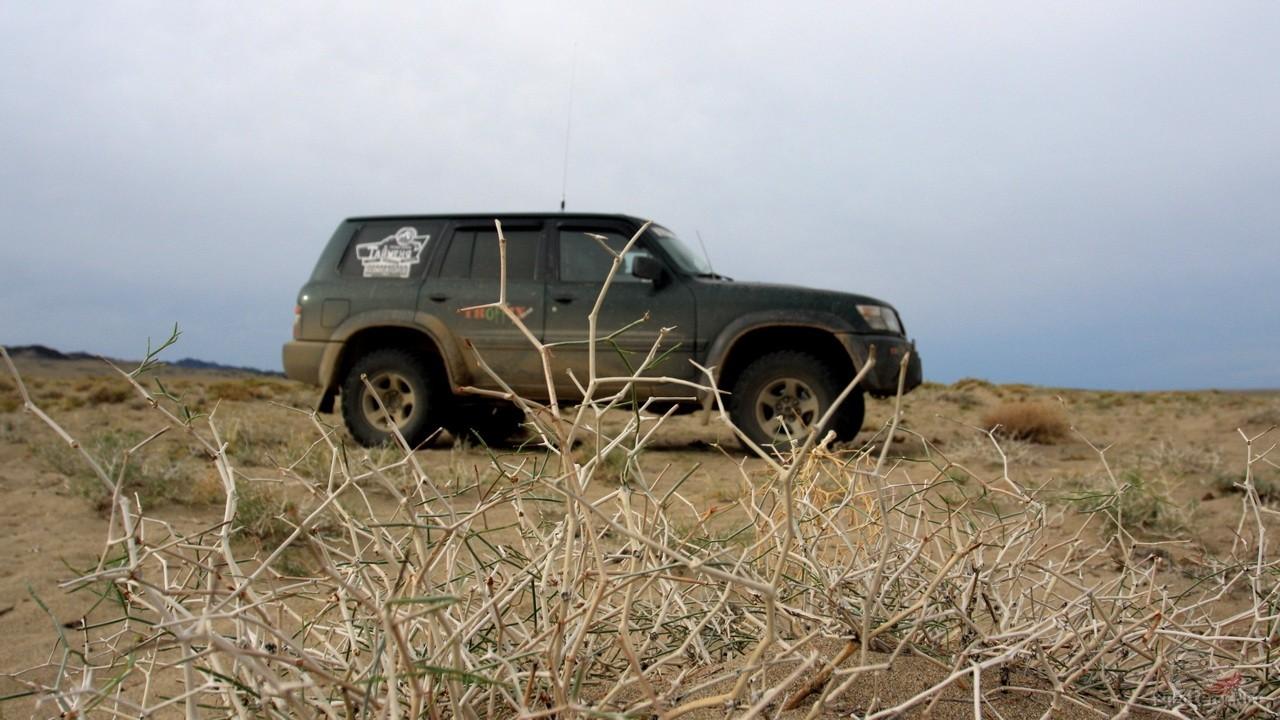 Подготовка Nissan Patrol к экспедиции в Монголию