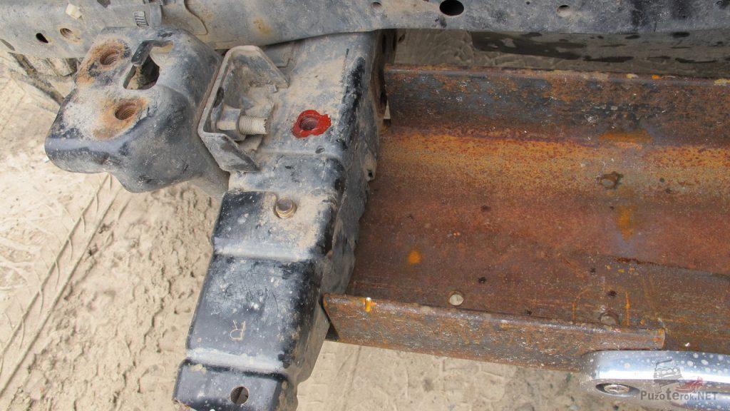 Как сделать площадку под лебедку на Nissan Patrol