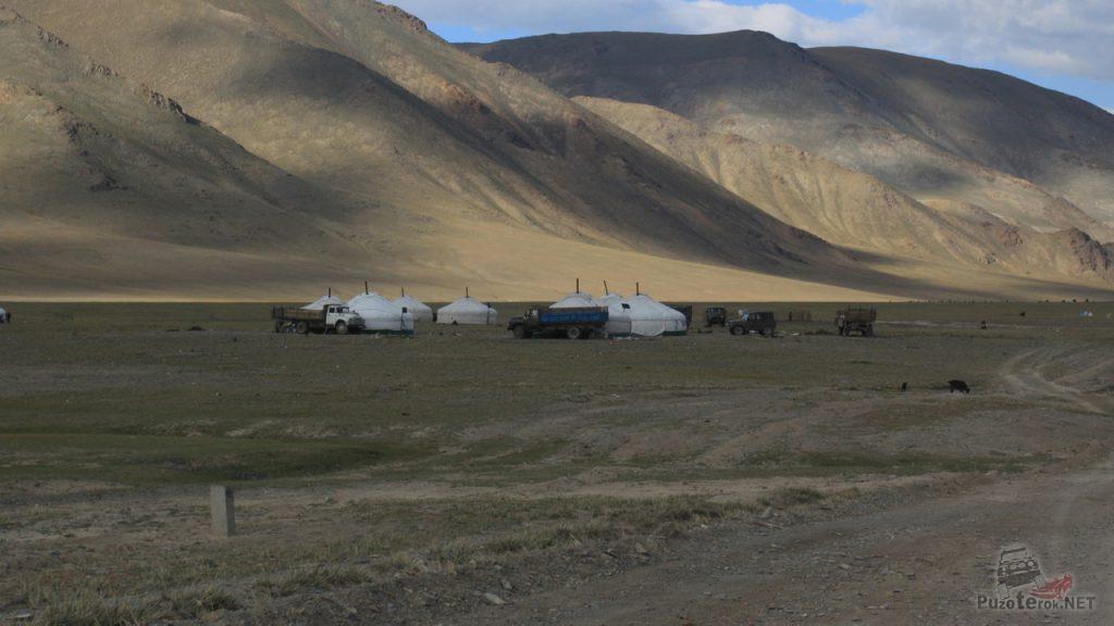 Монголия, жизнь монголов в юртах