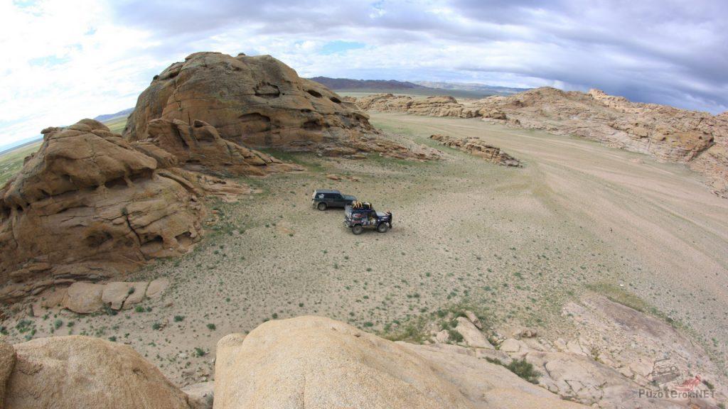 Пейзаж Монголии