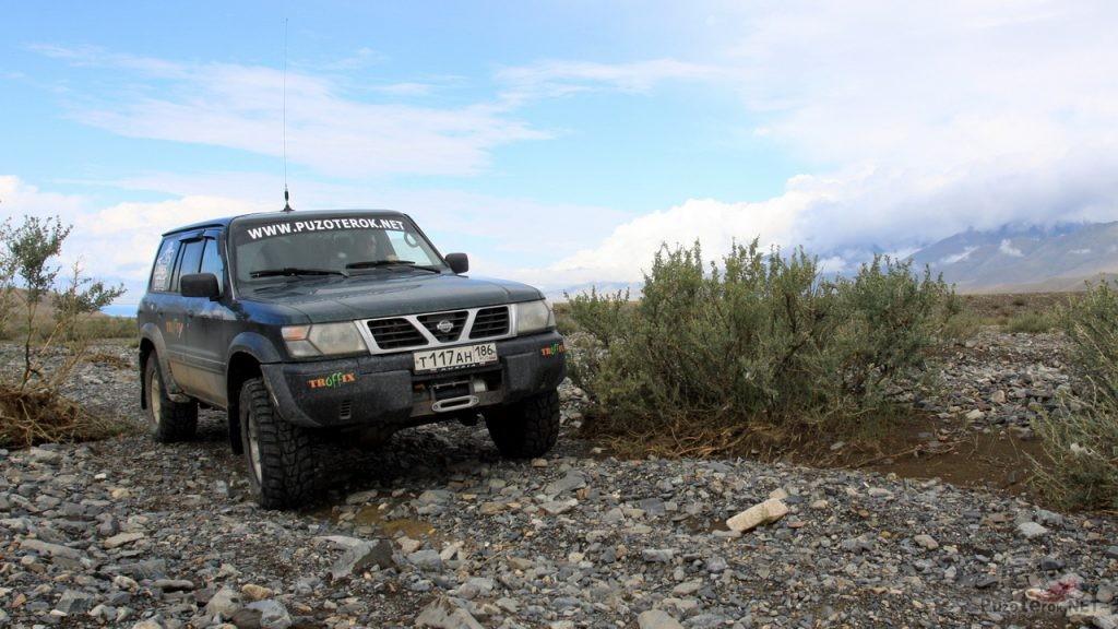 Nissan Patrol в Монголии