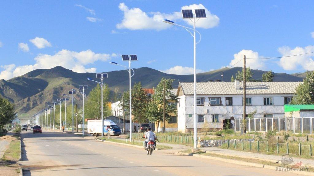Солнечные панели для городского освещения