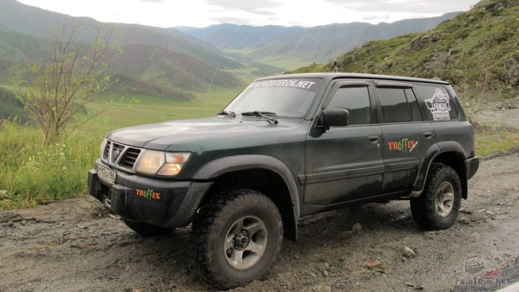 Ниссан Патрол на перевале Чике-Таман