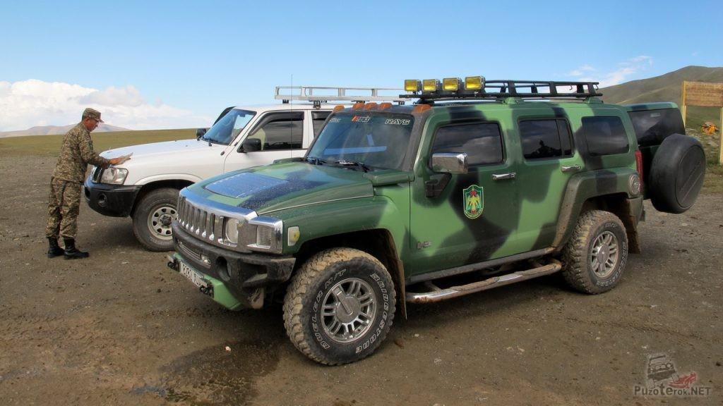 Автомобиль Монгольских пограничников