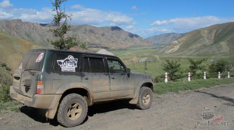 Путешествие по Монголии на Ниссан Патрол. Едем к Селенге