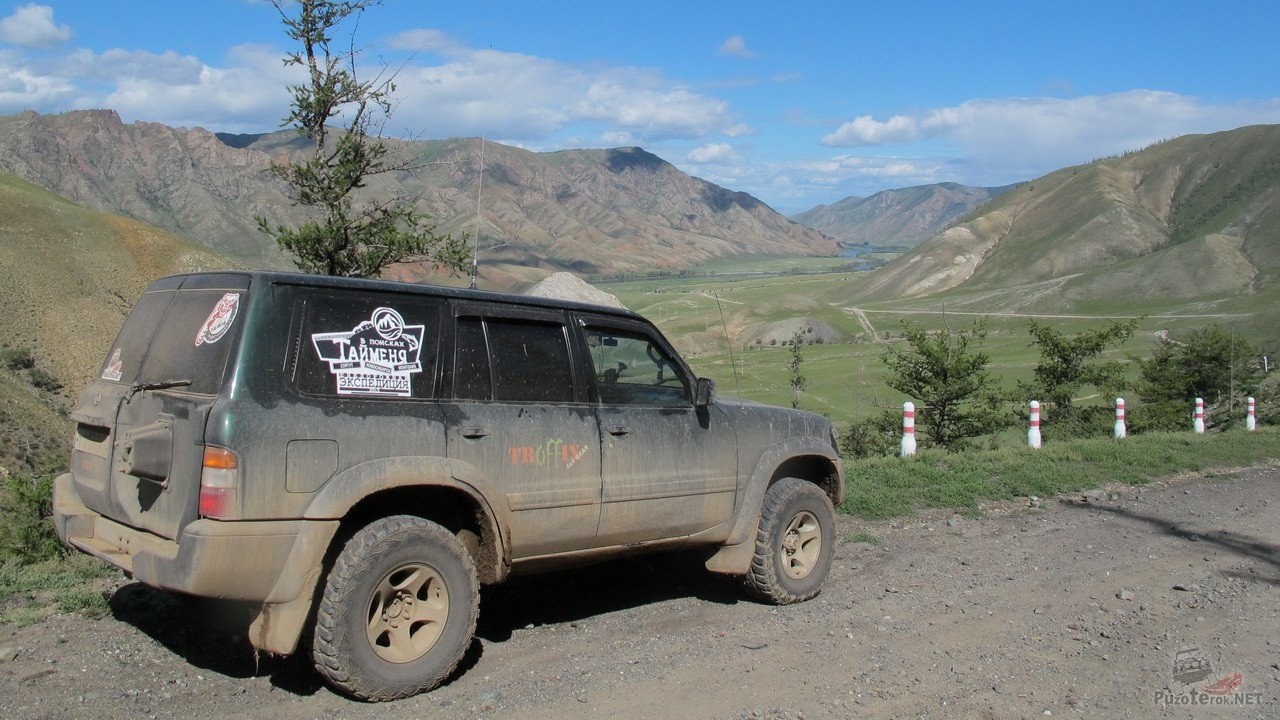 Путешествие по Монголии на Селенгу за Тайменем