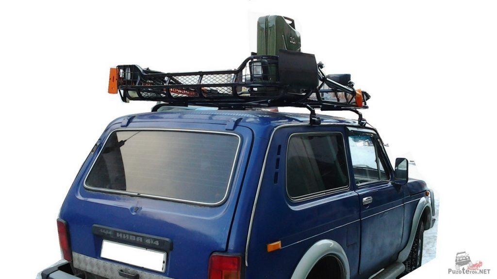 Использование экспедиционного багажника в путешествии