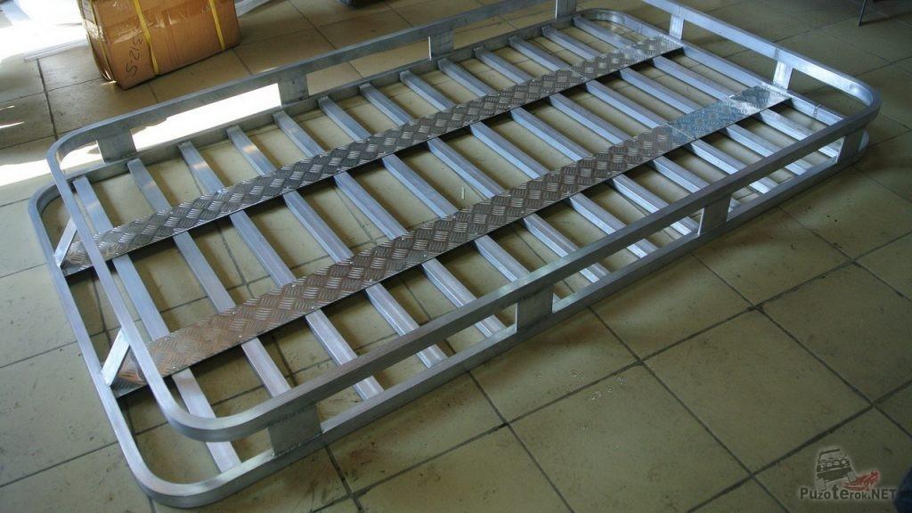 Изготовление самодельного алюминиевого багажника