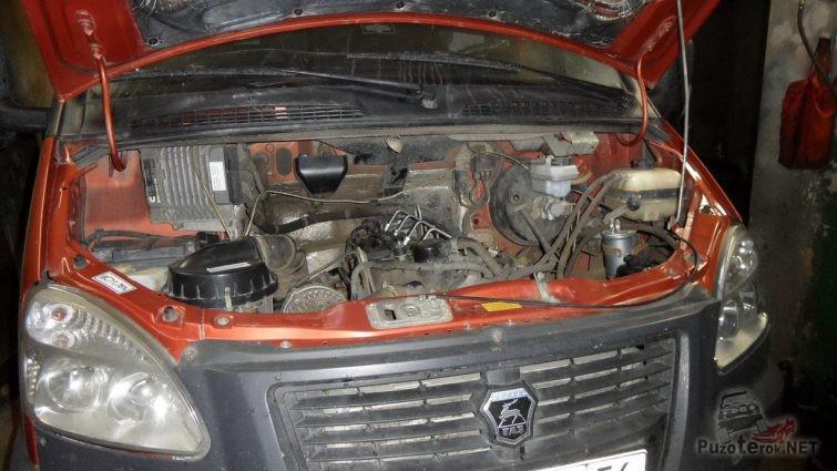 Дизельный двигатель Ниссан на Газель