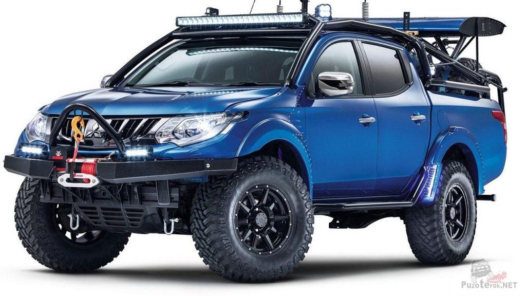 Mitsubishi L200 Desert Warrior - тюнинг от Top Gear
