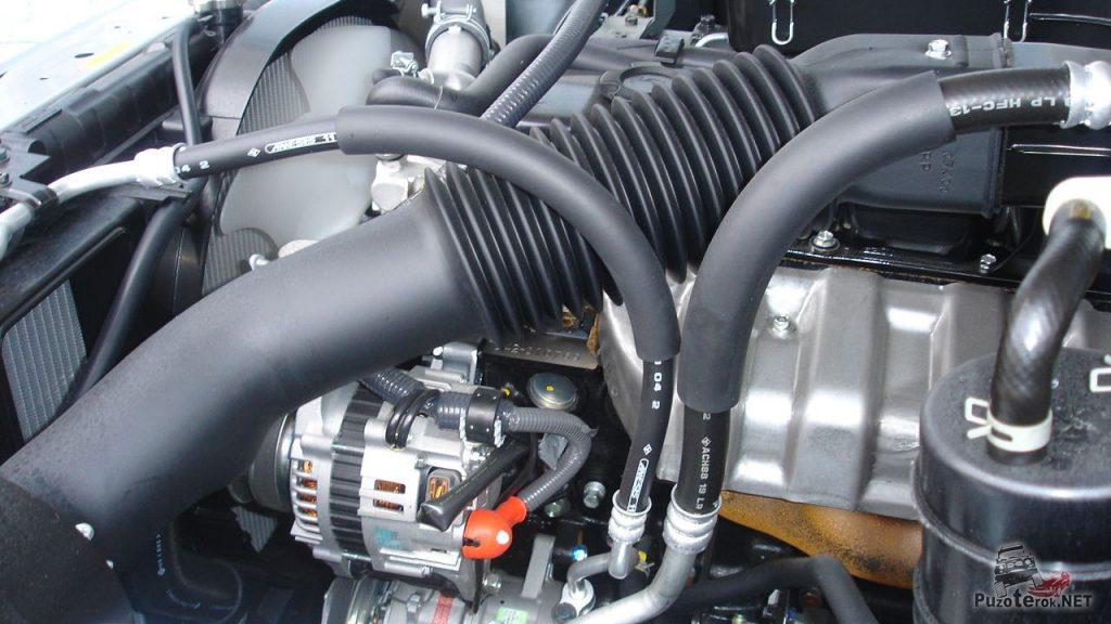 Двигатель нового Nissan Patrol TD42