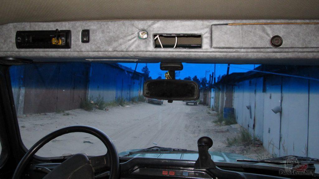 Потолочная консоль УАЗ своими руками
