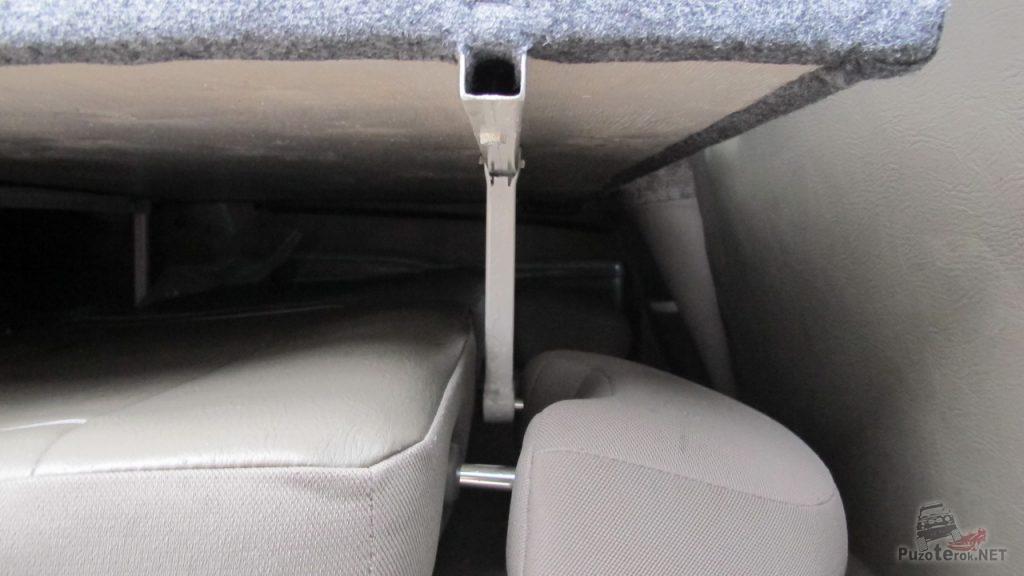 Крепления спальника в Nissan Patrol на сложенные сиденья