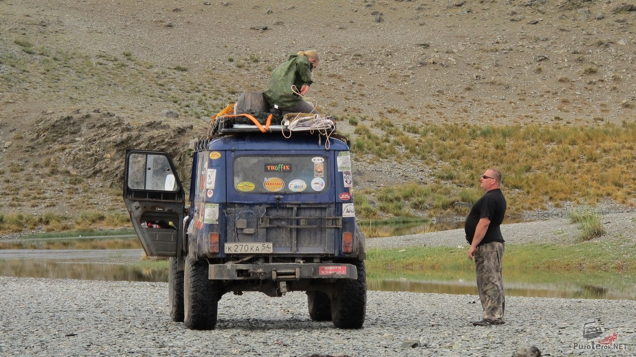 Путешествие на внедорожниках с военными мостами