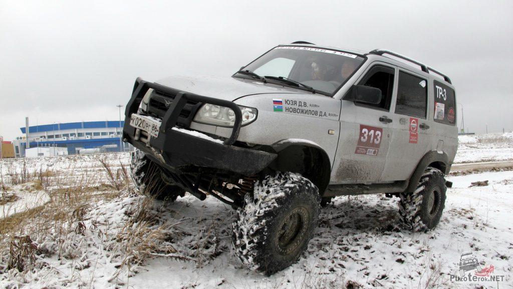 Тюнинг УАЗ Патриот, установка мостов УАЗ Барс