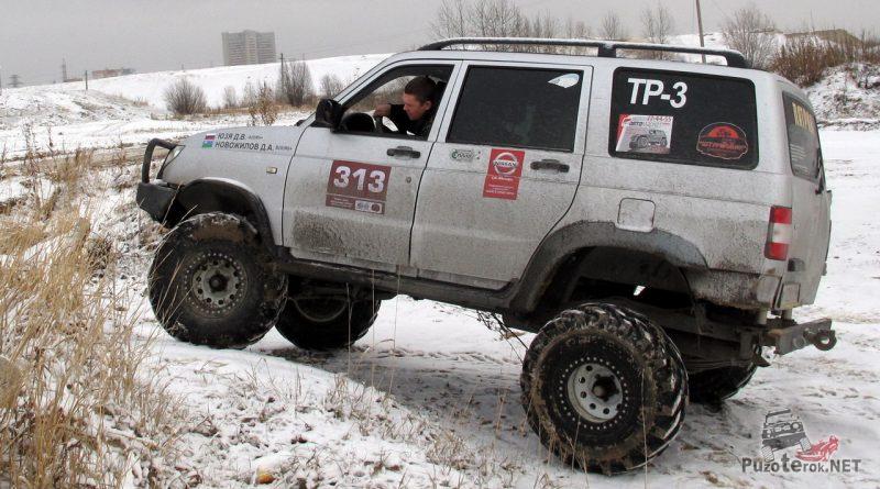 УАЗ Патриот на редукторных мостах от УАЗ Барс