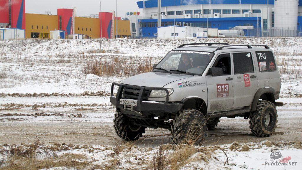 Фото УАЗ патриот на барсовских мостах