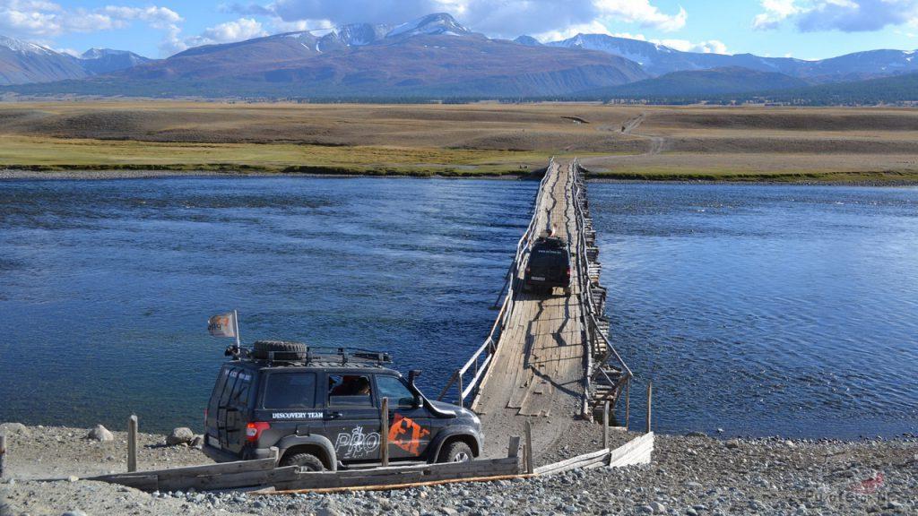 Экспедиция в Монголию. УАЗ Патриот.
