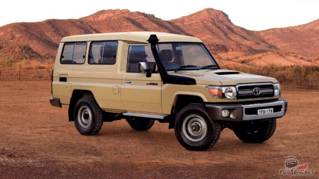 Великолепный внедорожник используемый для экспедиций множеством джиперов - Toyota Landcruiser 78