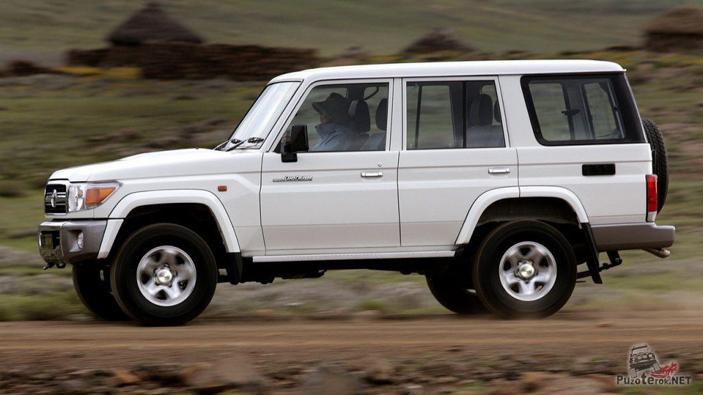 Современная Toyota Land Cruiser 70-й серии